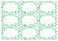 иконка шаблон этикетки 11